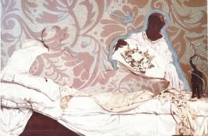 Oneika Russel  Olympia Variations, 2006 , digital print from 16 print series