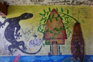 La grande case etle gecko