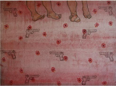 Inès de Tolentino Mon amour, ma blessure 2009