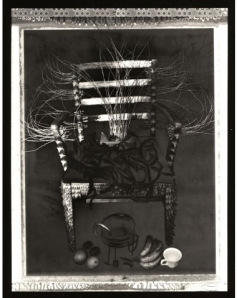 Albert Chong Throne for Ogun with spirit box 1991
