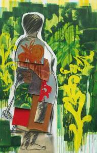 Thierry Tian Sio Po Femme regardant le paysage
