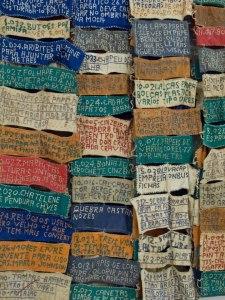 Arthur Bispo do Rosario  à la Biennale de Sao Pauloosario