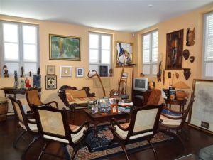 Espace muséal : le bureau d'Aimé Césaire