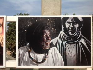 David Damoison Exposition in situ Ile de Gorée