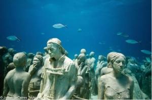 Jason Caires Taylor Parc sous marin de Cancun