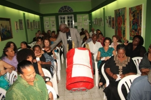 Chritian Bertin Diab là Musée de Barbade Black Jacobins 2011