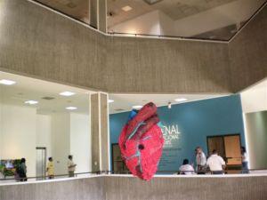 Hall du musée d'art modrene