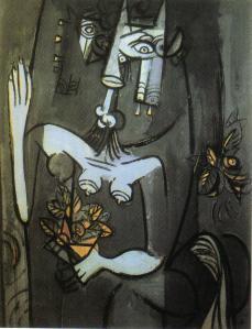 Wifredo Lam Les yeux de la grille  1942