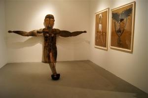 Vue de l'exposition  Rodrigo Olazabal