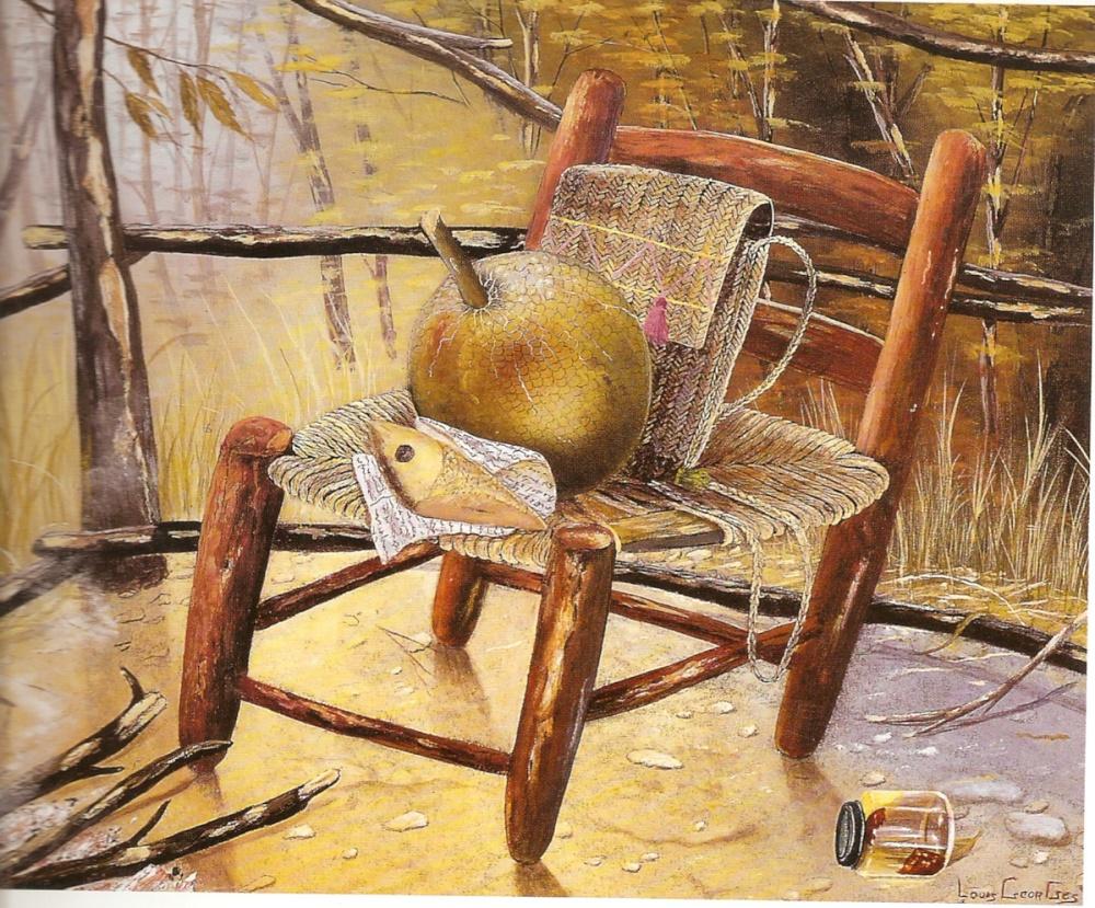 La chaise dans l'art haïtien par Gérald Alexis (1/4)