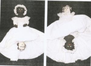 tospy - turvy doll ou poupée à deux visages