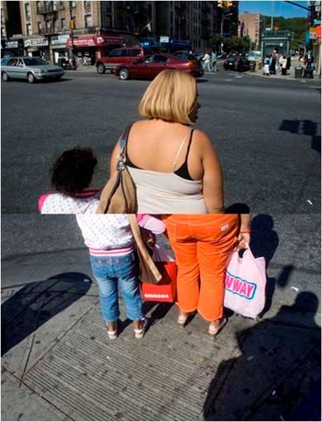 """Reunificación familiar, de la Serie """"dominicanYork"""", [s.d.], 2007-2008"""