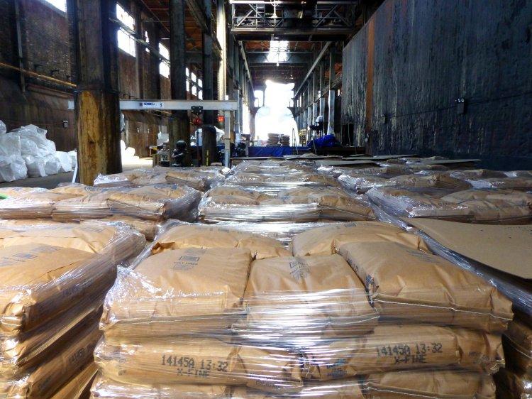 Domino Sugar Factory 76 tonnes de sucre
