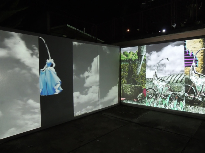 Versia Harris video-installation-at-alice-yard-2013