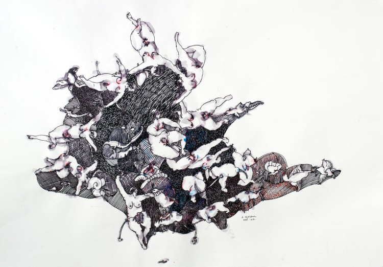 Ernest Breleur Origine 2014 Copyright Jean - Luc de Lagarigue  Courtesy Galerie Maëlle