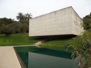 Pavillon Varejão, oeuvre de Cervinho Lopez