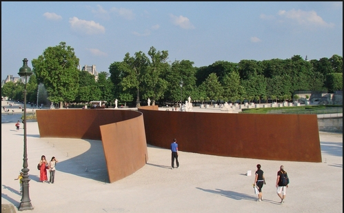 Richard Serra  Clara Clara Tuileries