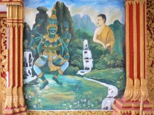 Fig.4 Peint mural in peng