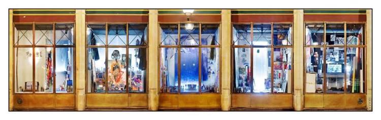 """Carte blanche à Shuck One au Palais Royal, 2007 - installation """"Introspection"""" Courtoisie de l'artiste"""