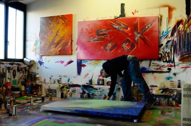 Shuck One, atelier  Courtoisie de l'artiste