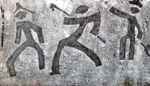 Kho Kho René - Corail ( détail d'une composition murale)