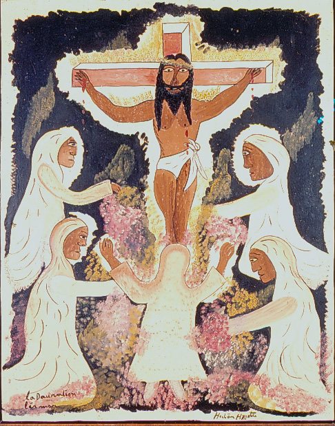 Hector Hyppolite La Dauration l'armor (L'adoration de la mort), c1947, collection Milwaukee Art Museum, Don de Richard et Erna Flagg