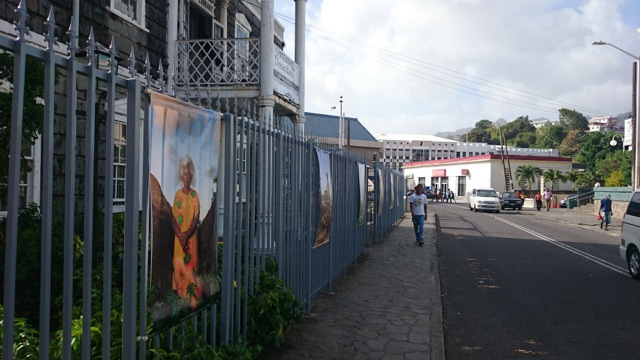Exposition de Robert Charlotte à Saint - Vincent