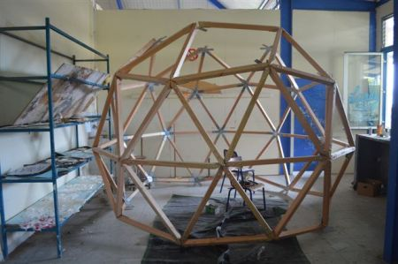 Jungle sphère in progress