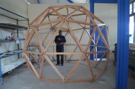 Jungle sphère in progress