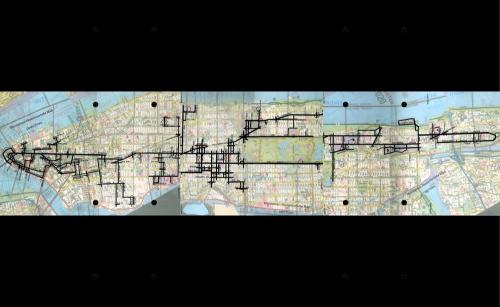 Chemi Rosado  Recartographier les villes ici New - york