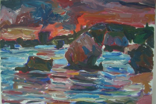 Artist ,Kellman, Date 2012, Title from the Bathsheba Series, Medium Oil on canvas, Dimensions 45x 60 cms Location, Private collection London..Picture credit the artist.