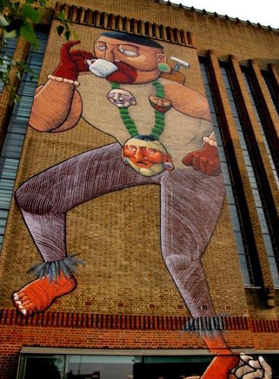 Nunca, Mural du Tate Modern en 2008