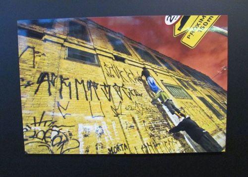 Biennale de Sao Paulo photo d'action par Adriano Choque photo Matilde dos Santos