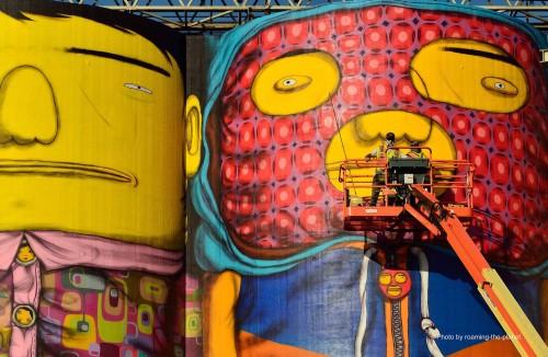 OsGemeos, biennale d'art contemporain de Vancouver, 2014