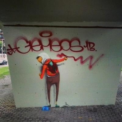 OSGEMEOS, 2013, Rio de Janeiro, photo Matilde dos os Santos