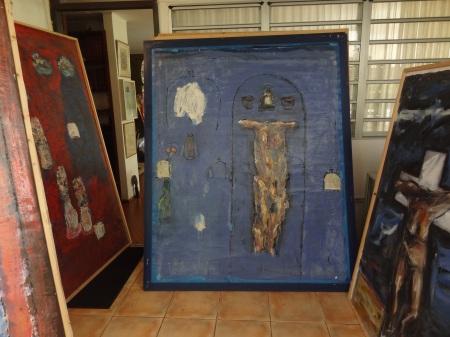 Visite de l'atelier d'Ernest Breleur