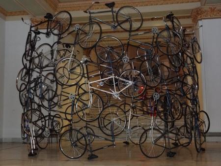 Wei Wei Installation présentée lors de la Biennale de Cuba 2012 Collection Cisneros