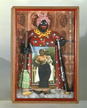 Bettye Saar Liberation of Aunt Jemima 1972