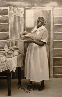 Nancy Green as Aunt Jemima I laughed because they paid me Archival pigment print Edition of 6 Sally Stockhold 2008
