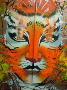 Steek Femme tigre