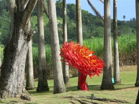 Miguel Chevalier Fractal Flower ©Aica Caraïbe du Sud