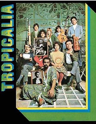 Pochette du disque Tropicalia, Gilberto Gil, Caetano Veloso, Os Mutantes, Tom zé, Gal Costa