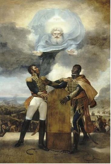 Guillaume Guillon Lethière Le Serment des Ancêtres (1822)