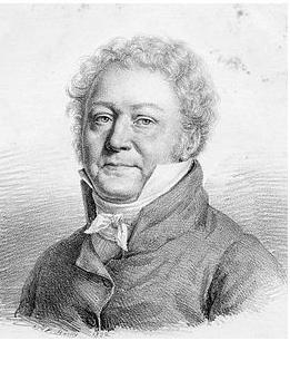 Guillaume Guillon Lethière. (1760-1832) Portrait par Julien Léopold Boilly (1822)