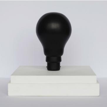 Sebastien Mehal HZ marbre noir massif hauteur 18 cm Couretsy Maëlle Galerie