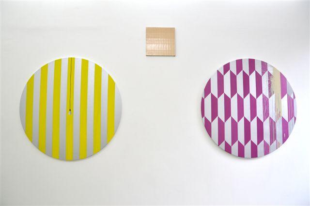 Vue de l'exposition Courtesy Maëlle Galerie