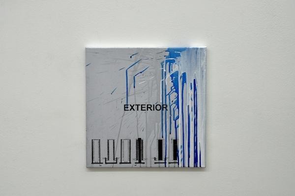 Sébastien Mehal Urbanity Acryique sur toile 35 X 35 cm 2016 Courtesy Maëlle Galerie