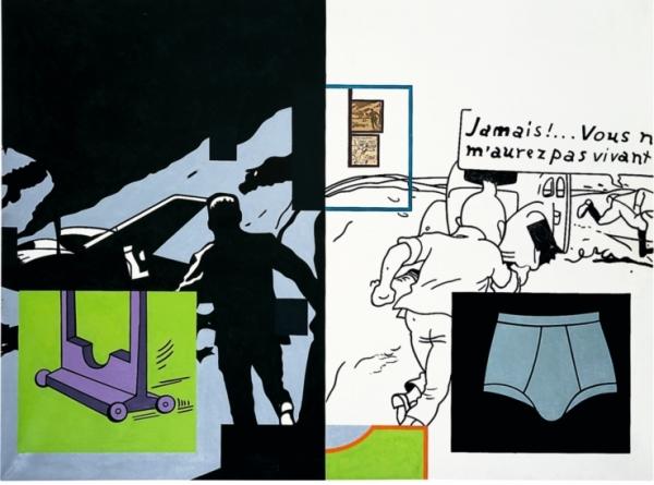Fiche 1965 Huile sur toile 97 x 130 cm Collection particulière