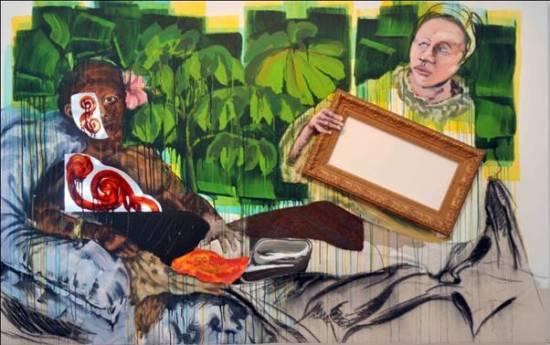 Thierry Tian So Po L'image de l'occidental dans la peinture caribéenne n°2l'art