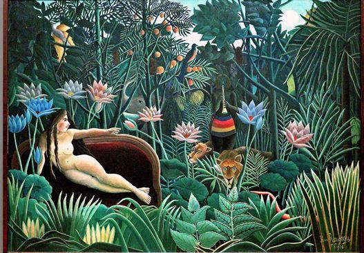 Le rêve, 1910, huile sur toile, 204,5 X 298,5 cm